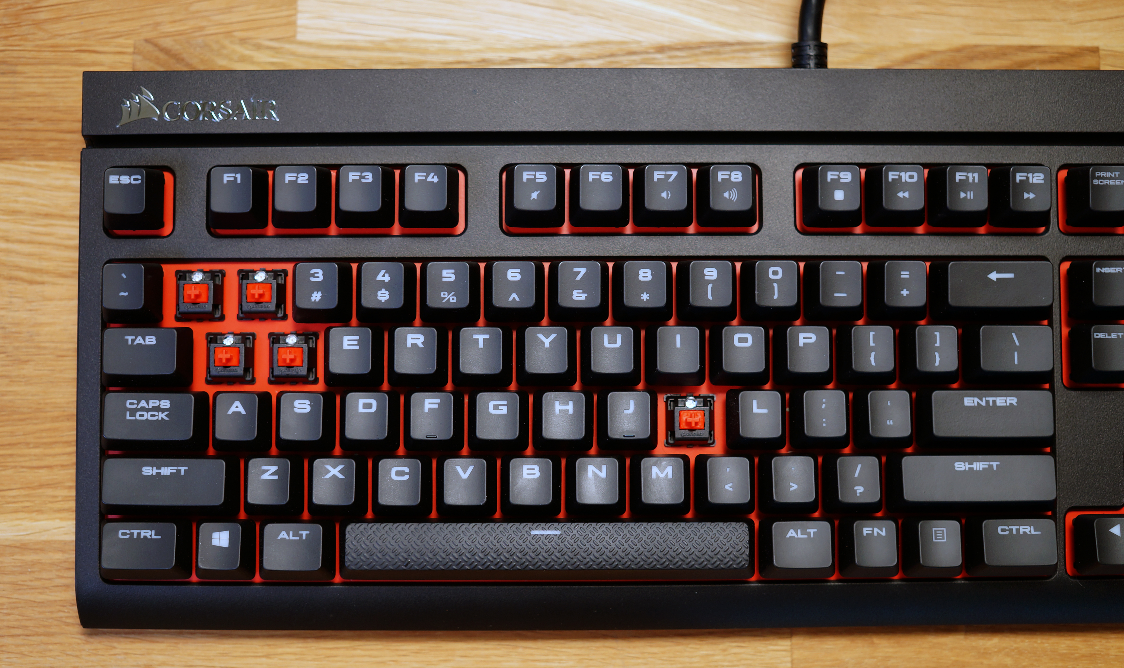 The Best Mechanical Keyboard Switches Explained Pc Gamer Select Rating Give Computer Circuit Board 1 5
