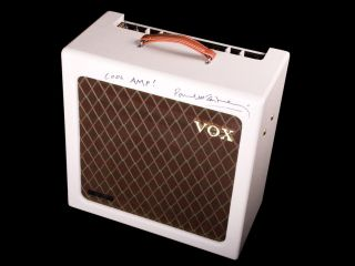 A very cool amp auctioned for a very good cause