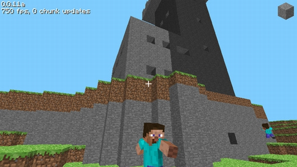 The First Moments of Minecraft | PC Gamer