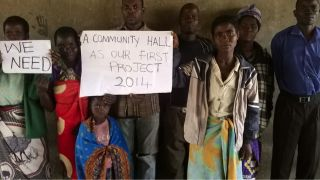 Malawi villagers want a new community hall