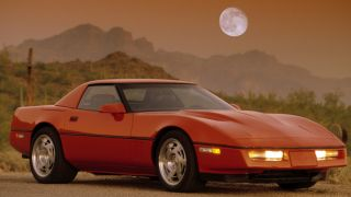 A red Corvette We should write a song about that
