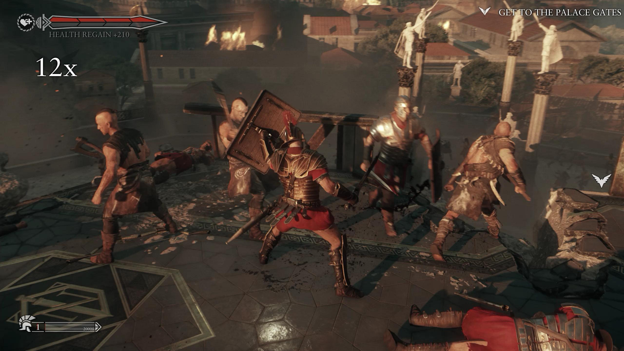 Ryse: Son of Rome PC gameplay video — max settings at 2560x1440 on LPC | PC  Gamer