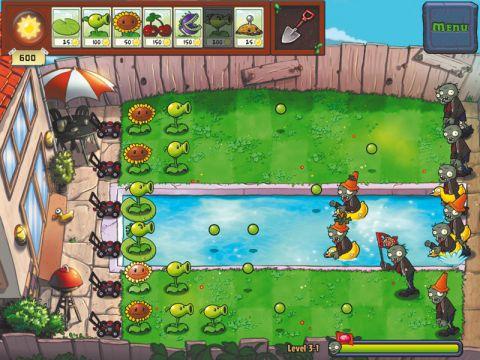 Plants vs. Zombies HD iPad app