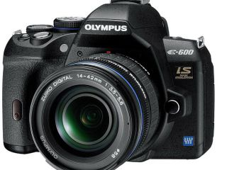 Big camera, small price - Olympus announces the E-600 D-SLR