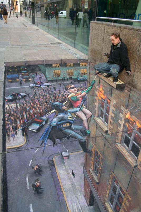 Street art: Julian Beever