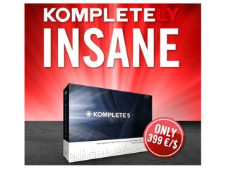 Komplete 5 is currently available at a bargain price.