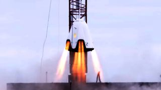 SpaceX Dragon 2 crew capsule