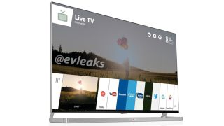 LG's webOS tv shows up again, this time with a picture