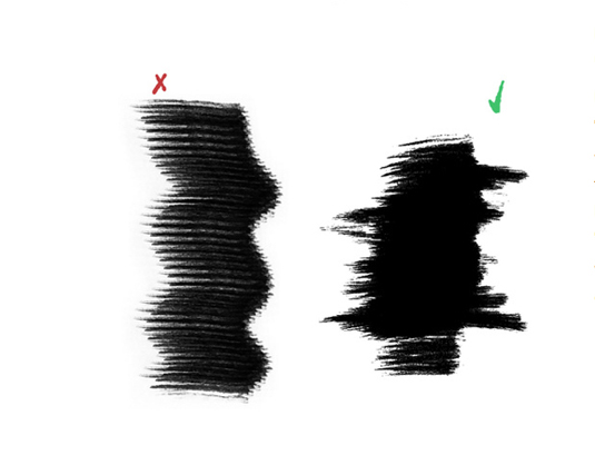 Photoshop brushes: dry brushes