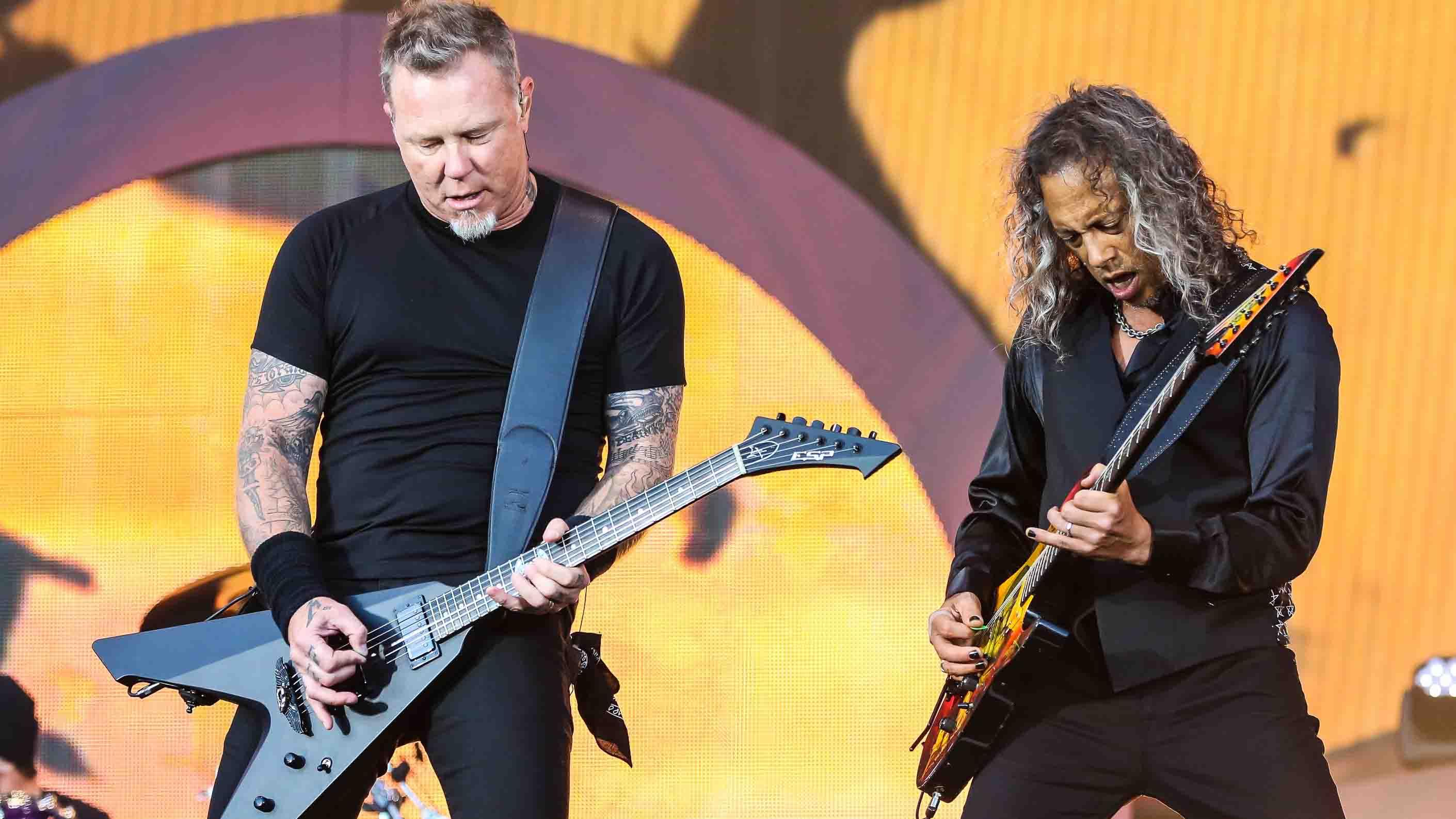 Metallicas James Hetfield And Kirk Hammett On Their Tonal Evolution