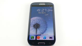 black Samsung Galaxy S3 black