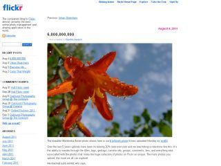 Flickr 6 billion