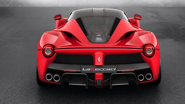 Ferrari 0 60 times