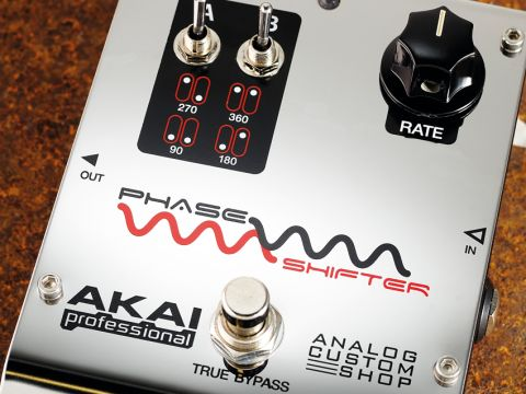The Phase Shifter offers a different experience to vintage phasers.