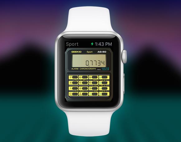 Le Watch Into A Casio Calculator