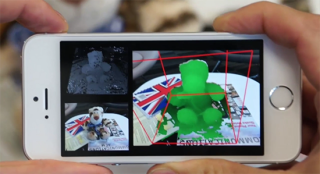 Microsoft MobileFusion 3D scanner