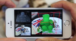Microsoft MobileFusion 3D scanner