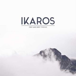 Font of the day: Ikaros