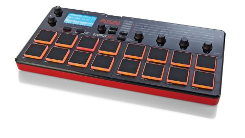 The overall design is typically Akai and in the flesh it looks good with its textured red/black chassis and glossy control panel