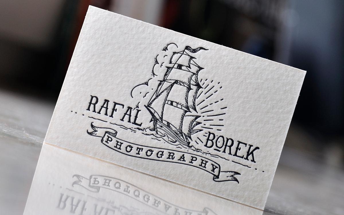 Letterpress business cards: Letter & Press