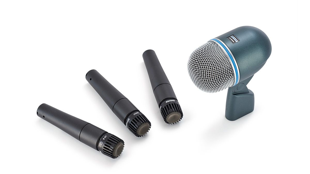 Gatt Drum Mic Set Review : shure dmk57 52 drum mic kit review musicradar ~ Hamham.info Haus und Dekorationen