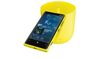 The recently launched Nokia Lumia 920 and accompanying JBL bluetooth speaker