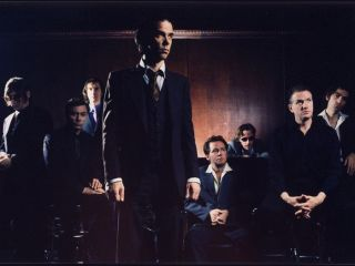 Nick Cave And The Bad Seeds Mick Harvey is second from right
