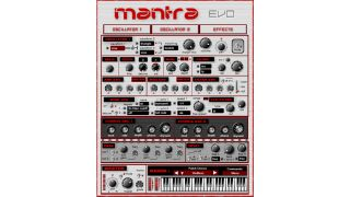 Mantra Evo is said to be two synths in one.