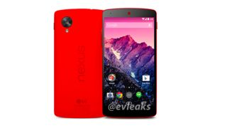 Red Nexus 5 looking very pretty and pretty official in leaked press shot