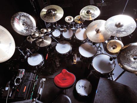Gavin Harrison S Drum Setup Revealed Porcupine Tree S Kit