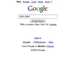 My Location now in iPhone Safari browser