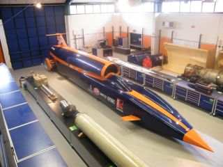 The Bloodhound SSC - Britain born and bread