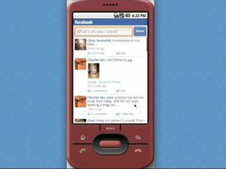 Facebook appears for Android