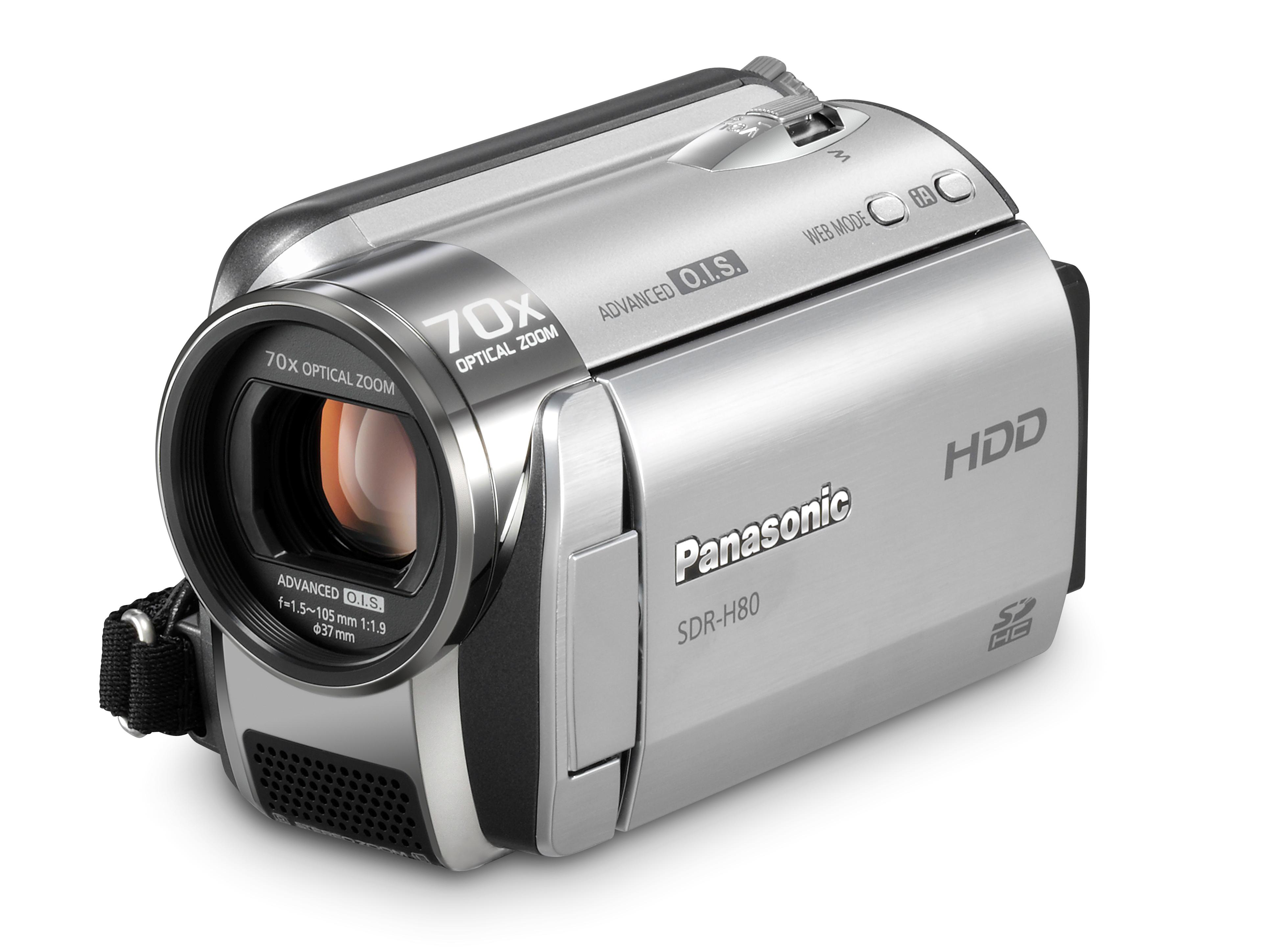 Panasonic sdr-h80 | techradar.