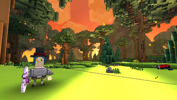 trove a procedurally generated voxelbased sandbox which