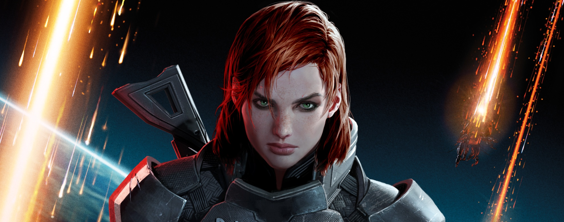 Mass Effect 3: this is female Shepard | PC Gamer
