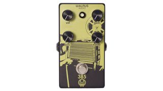 Walrus Audio harnesses the sound of vintage film projectors for 385 Overdrive pedal