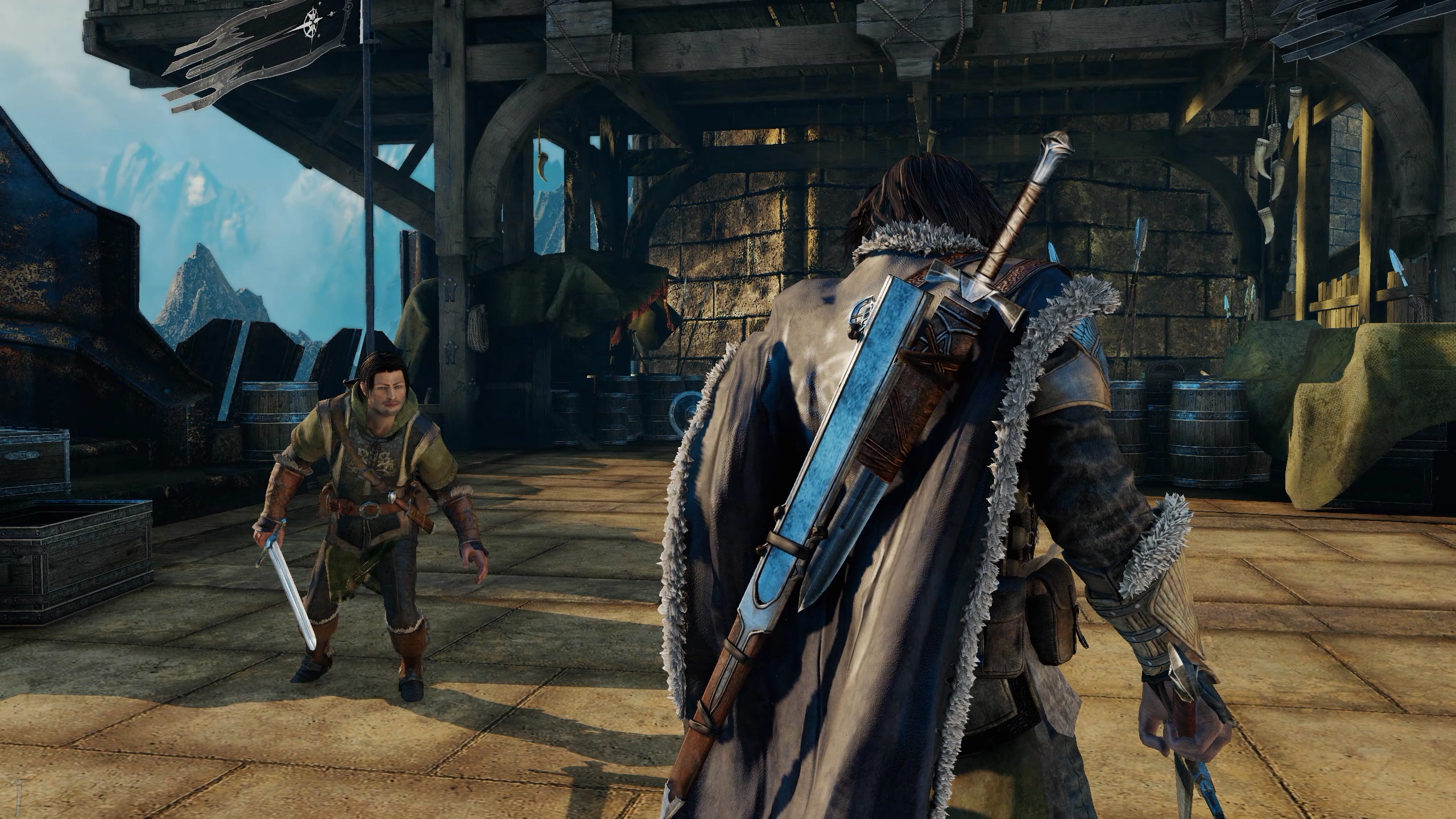 Spot the difference: Shadow of Mordor ultra HD textures