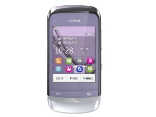 Nokia C2-06 - cheap and purple