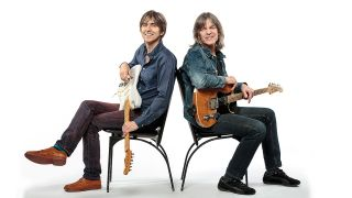 Eric Johnson (left) and Mike Stern (right) have teamed up on new album Eclectic