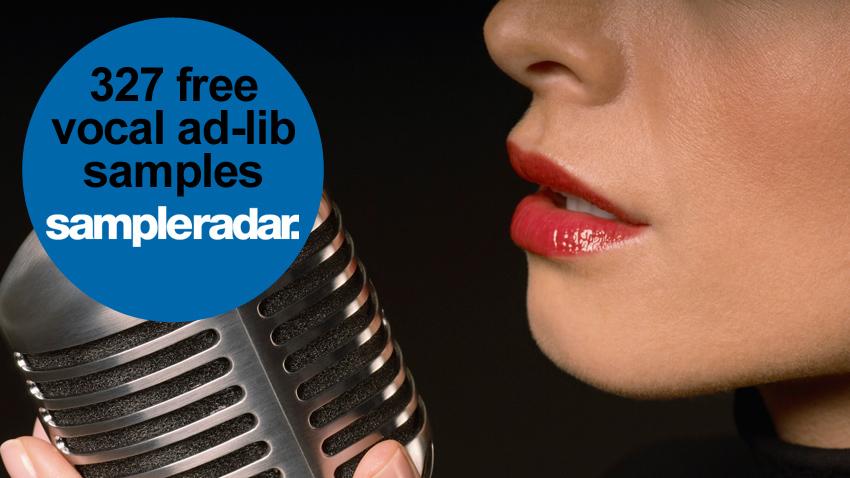 SampleRadar: 327 free vocal ad-lib samples | MusicRadar