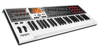 The M-Audio Axiom AIR 49, one of three new keyboard controllers