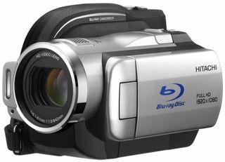 The new Hitachi DZ-BD10H Blu-ray cam