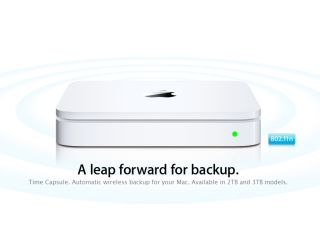 Apple's 3TB Time Capsule can store a whole lot of stuff