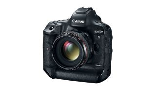Canon EOS-1D X Mark II with Lens