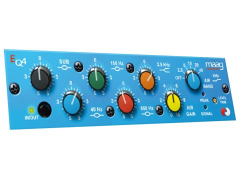 The six-band EQ4 offers unbeatable sonic shaping among plug-ins.