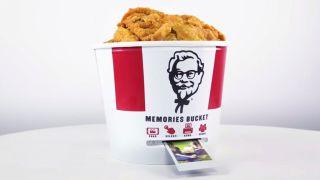 KFC memories bucket