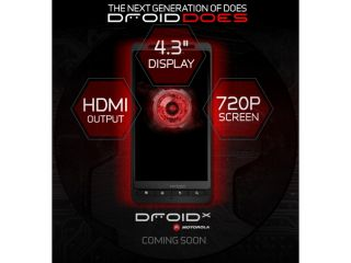 The Motorola Droid X breaks cover