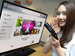 LG Magic Remote adds voice control to smart TVs
