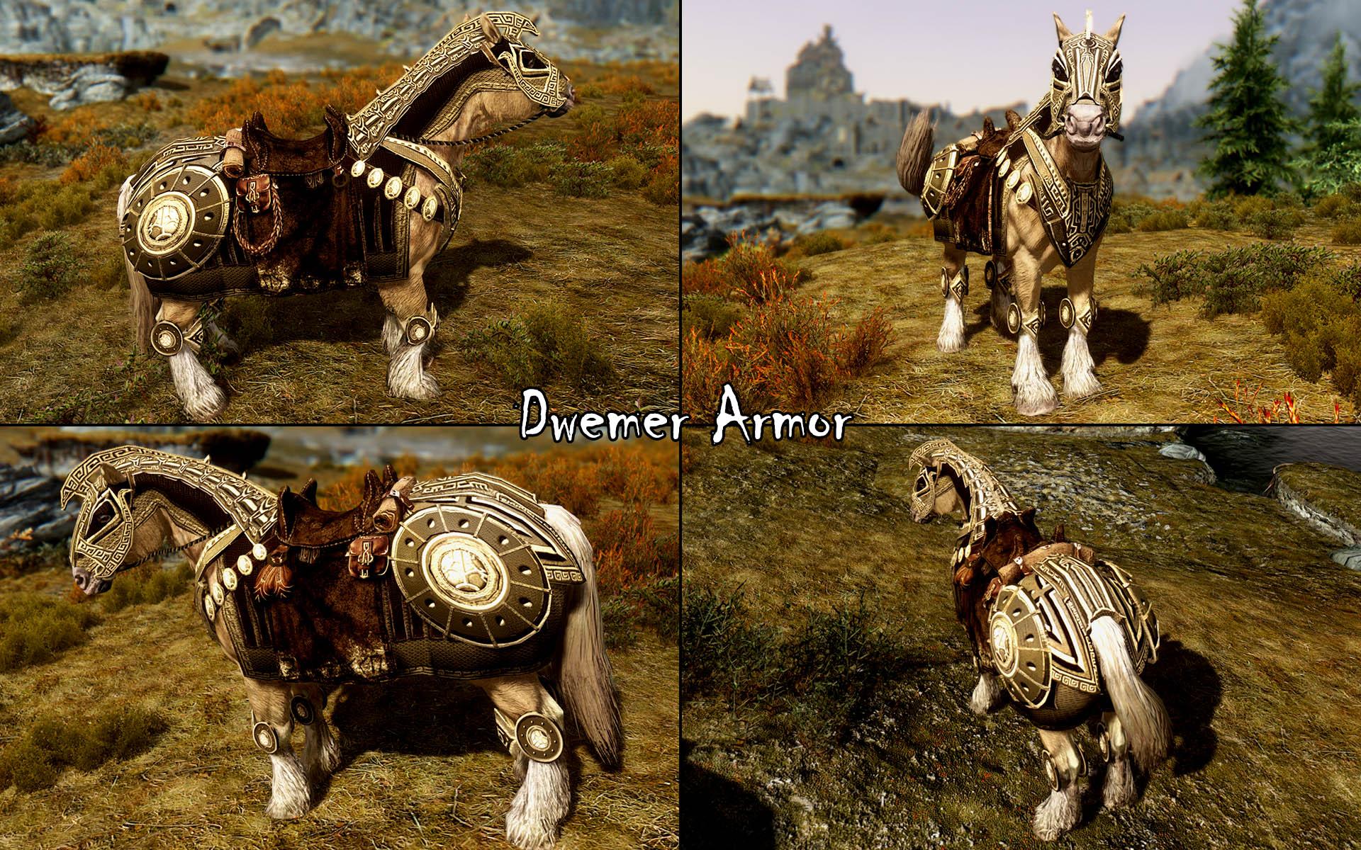 the best skyrim mods: convenient horses